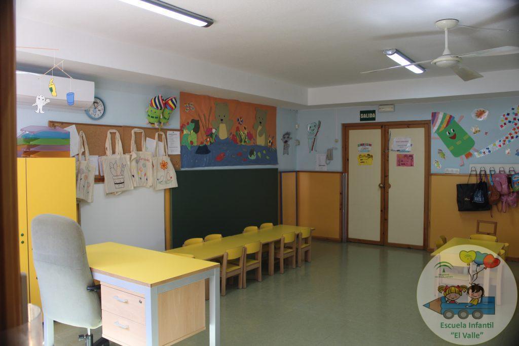 Interior de una aula de la Escuela Infantil El Valle