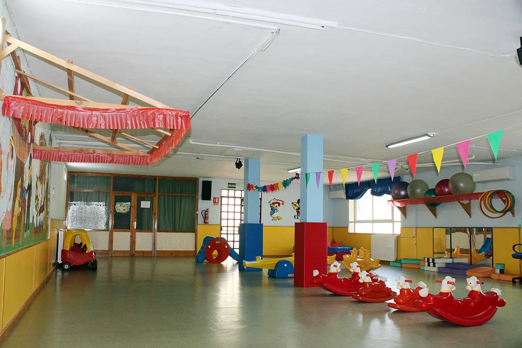 Sala de usos múltiples de la Escuela Infantil El Valle
