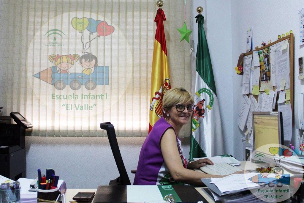 Directora de la Escuela Infantil El Valle